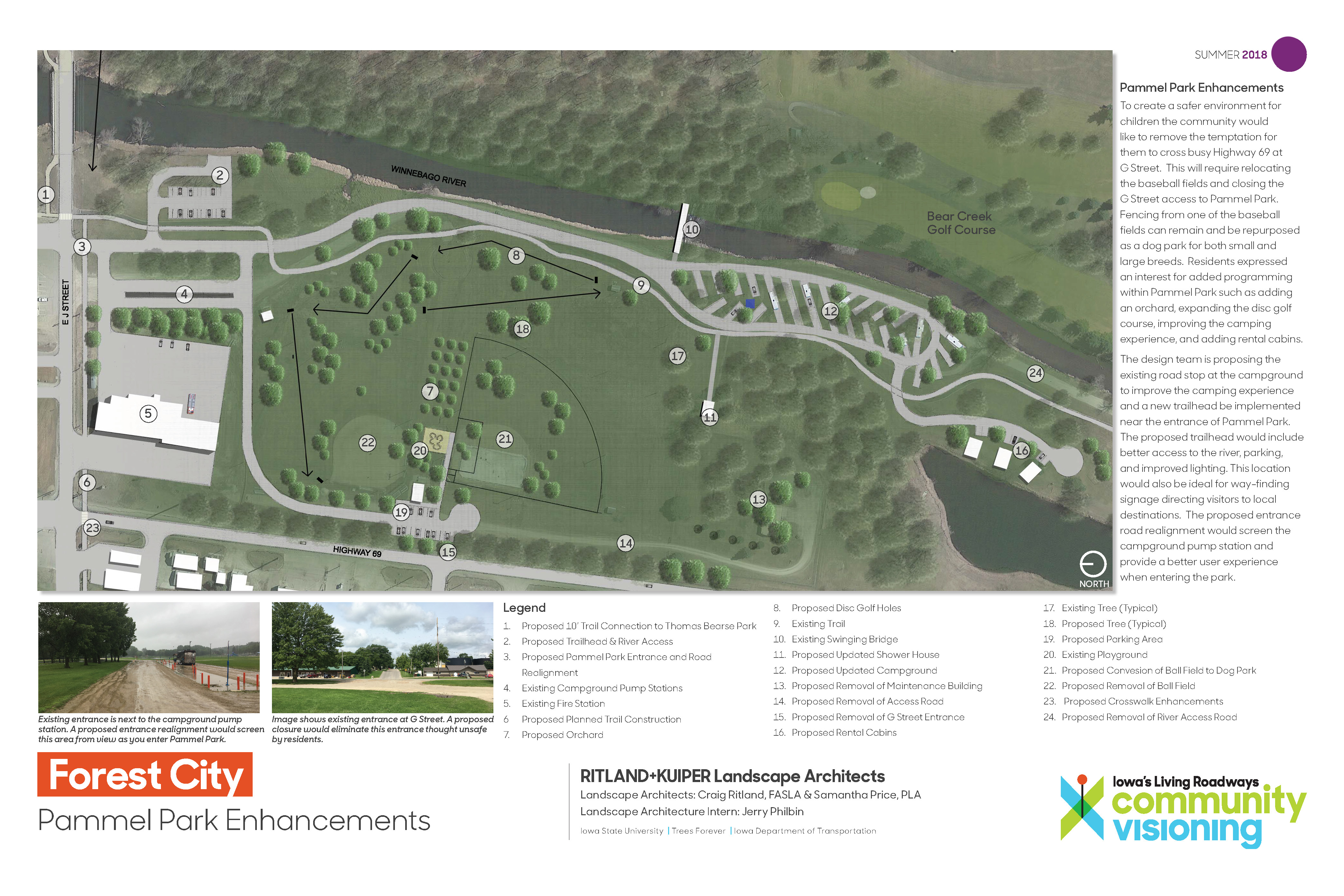 Forest City Visioning Projects 2018 | Forest City, Iowa