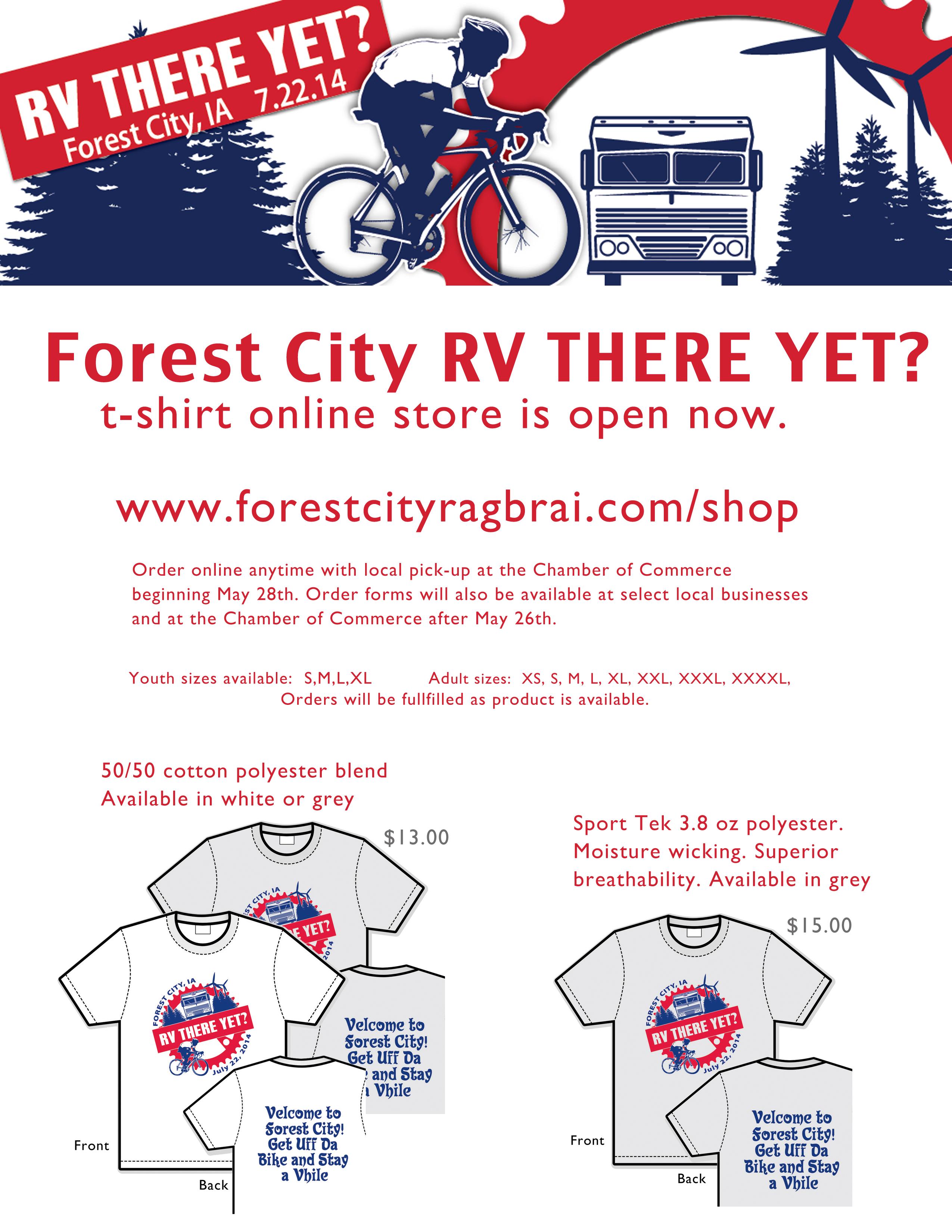 FC RAGBRAI t-shirt poster